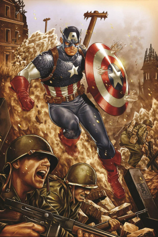 All-New All-Different Avengers #4 (Captain America 75th Anniversary Cover)