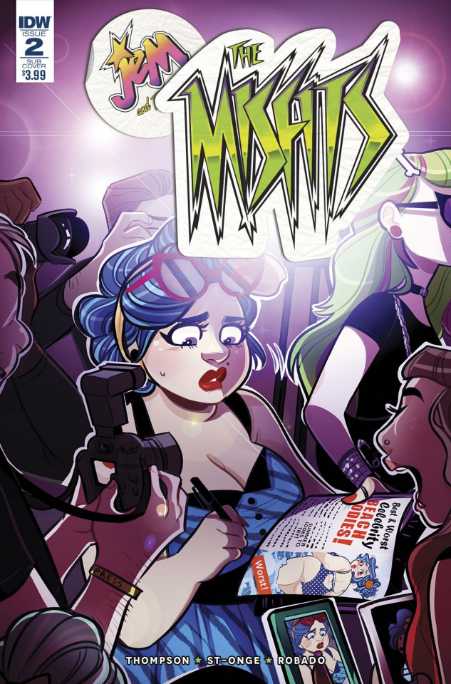 Jem and The Misfits #2 (Subscription Cover)