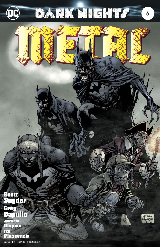 Dark Nights: Metal #6 (Lee Cover)