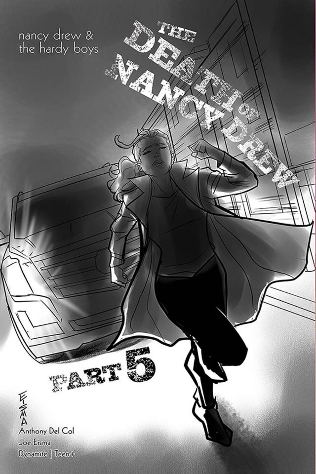 Nancy Drew & The Hardy Boys: The Death of Nancy Drew #5 (10 Copy Eisma Cover)