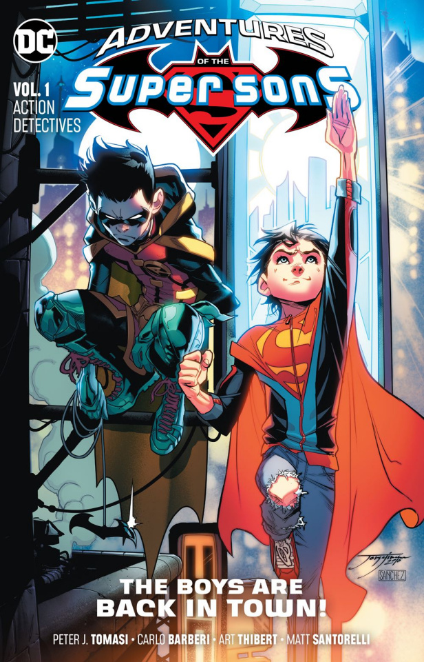 Adventures of the Super Sons Vol. 1: Action Detective