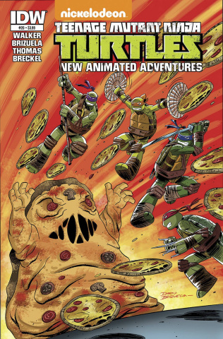 Teenage Mutant Ninja Turtles: New Animated Adventures #20