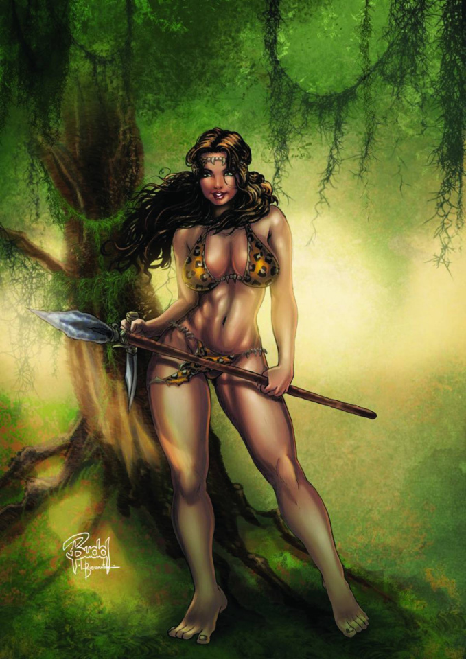 Cavewoman: The Return #3 (Root Cover)
