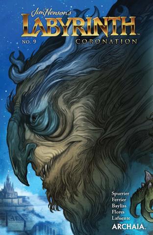 Labyrinth: Coronation #9 (Godbey V Cover)