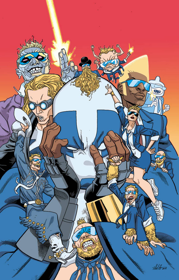 Valiant-Sized Quantum & Woody #1 (20 Copy Hawthorne Cover)