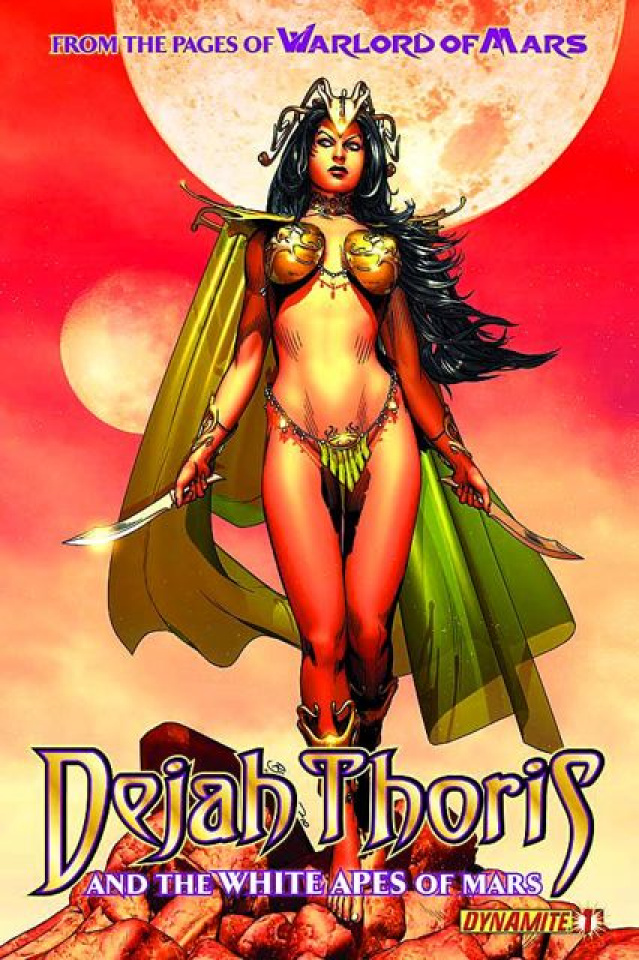 Dejah Thoris & The White Apes of Mars #1