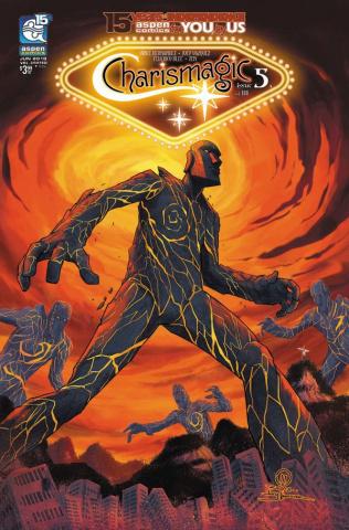 Charismagic #5 (Vazquez Cover)