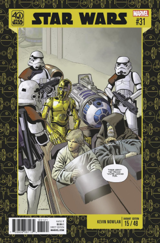 Star Wars #31 (Nowlan 40th Anniversary Cover)