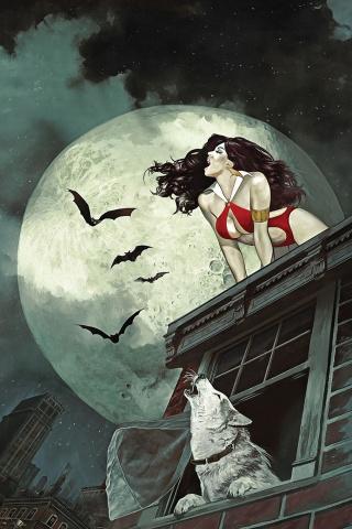 Vampirella #7 (Dalton Virgin Cover)