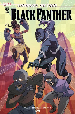 Marvel Action: Black Panther #6 (Florean Cover)