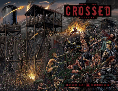 Crossed: Badlands #95 (Wrap Cover)