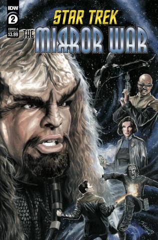 Star Trek: The Mirror War #2 (Woodward Cover)