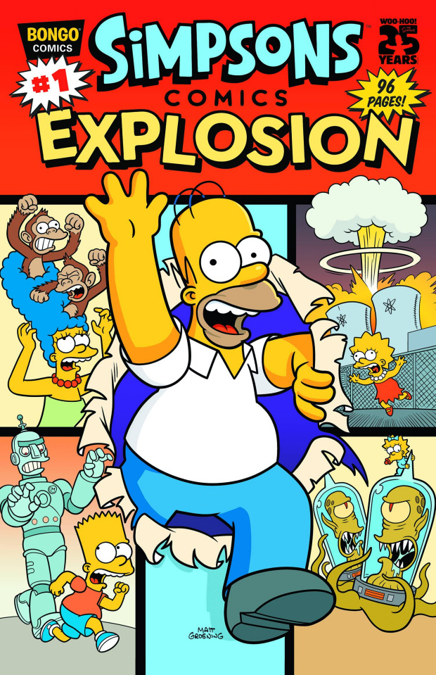 Simpsons Comics Explosion #1