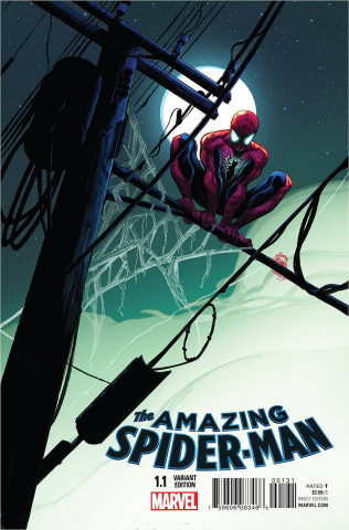 The Amazing Spider-Man #1.1 (Stegman Cover)