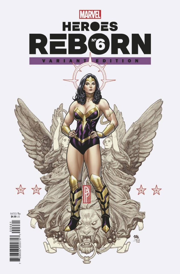 Heroes Reborn #6 (Frank Cho Cover)
