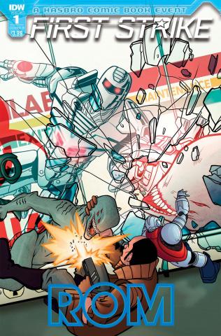 ROM: First Strike #1 (Panda Cover)