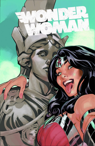 Wonder Woman #34 (Selfie Cover)