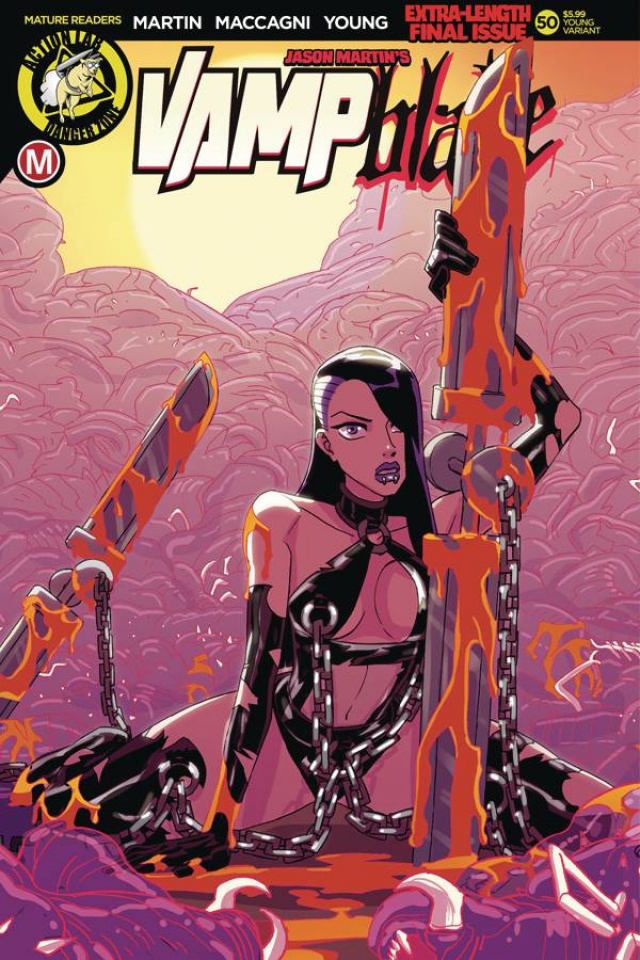 Vampblade #50 (Winston Young Cover)
