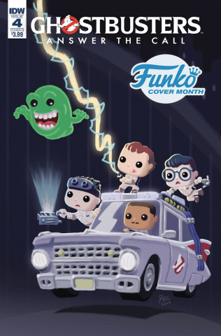 Ghostbusters: Answer the Call #4 (Funko Branesky Cover)