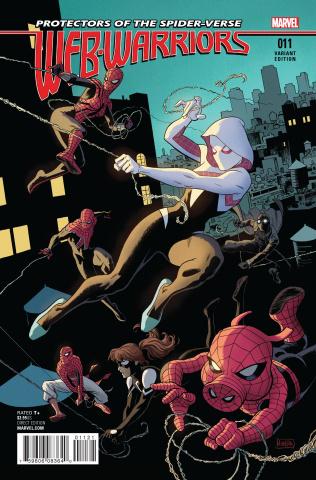 Web Warriors #11 (Rivera Last Issue Cover)