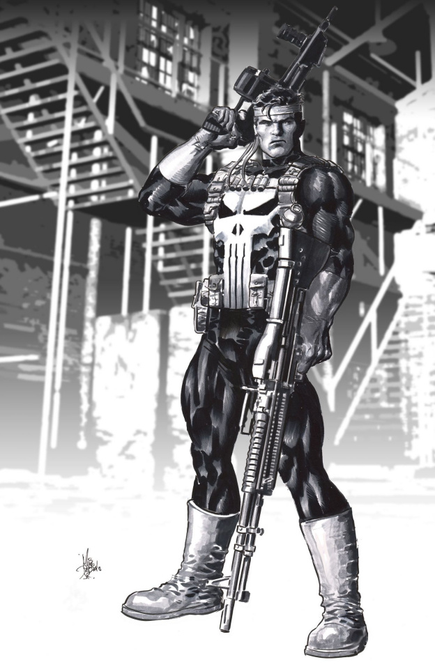 The Punisher #2 (Deodato Cover)