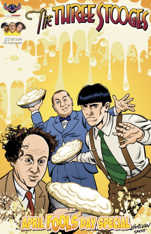 The Three Stooges: April Fools' Day (Pie Time Cover)