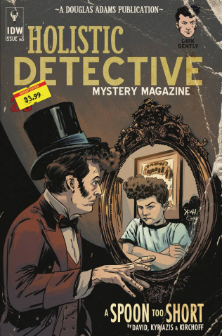 Dirk Gently's Holistic Detective Agency: A Spoon Too Short #5 (Subscription Cover)