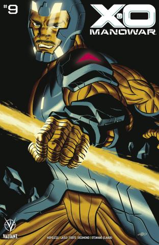 X-O Manowar #9 (Cho Cover)