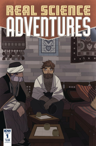 Real Science Adventures: Nicodemus Job #1 (McClaren Cover)