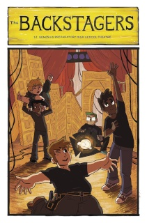 The Backstagers #2 (15 Copy Pandya Program Cover)