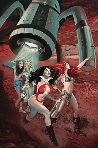 Red Sonja and Vampirella Meet Betty and Veronica #8 (Dalton Virgin Cover)