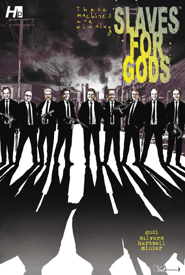 Slaves for Gods Vol. 1 (Adlard Cover)