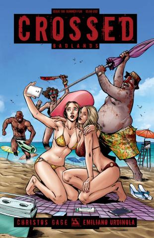 Crossed: Badlands #100 (Summer Fun Cover)