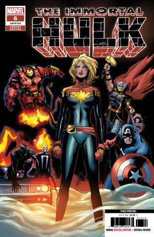 The Immortal Hulk #6 (Garbett 3rd Printing)