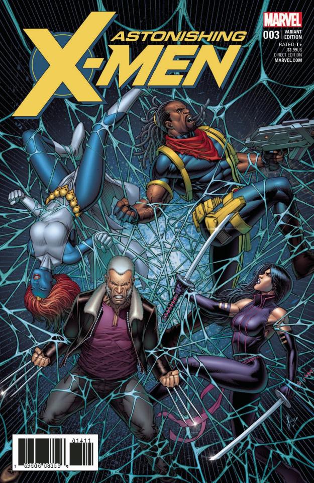 Astonishing X-Men #3 (Keown Cover)
