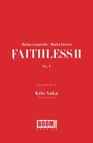 Faithless II #1 (Erotica 2nd Printing)