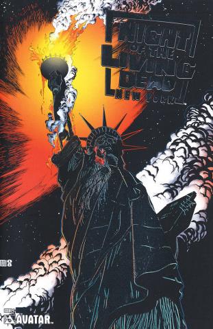 Night of the Living Dead: New York #1 (Platinum Foil Cover)