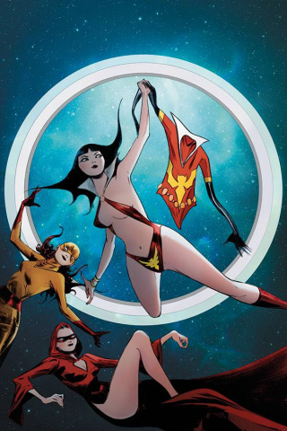 Vampirella: The Dark Powers #1 (Lee Virgin Cover)