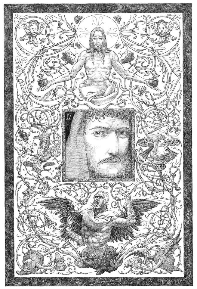 Judas #4 (Bastian Cover)