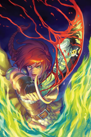 Red Sonja: Age of Chaos #3 (21 Copy Hetrick Virgin Cover)