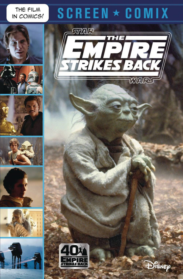 Star Wars: The Empire Strikes Back Screen Comix