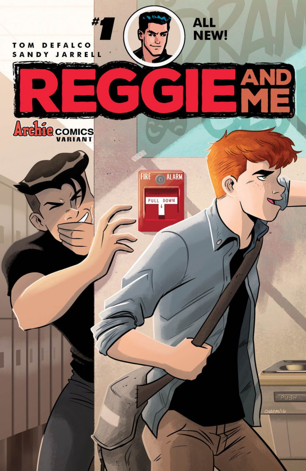 Reggie and Me #1 (Derek Charm Cover)