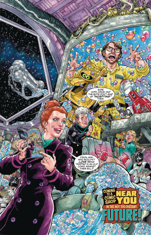 Mystery Science Theater 3000 #1 (Nauck Cover)