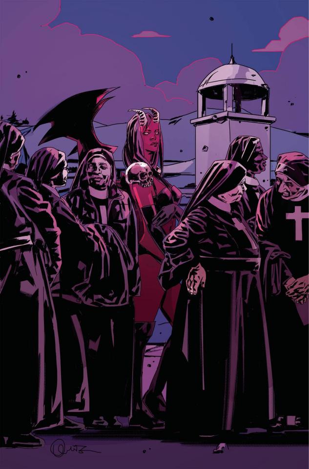 Purgatori #3 (Fuso Virgin Cover)