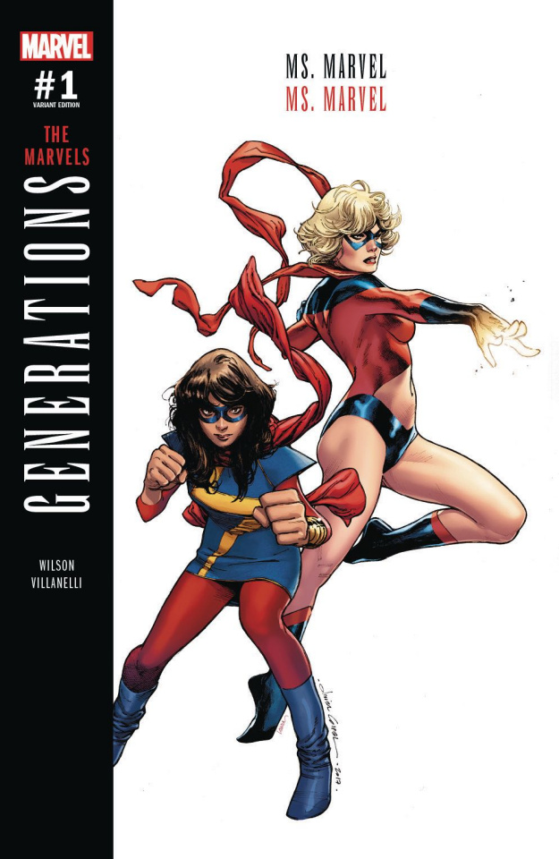 Generations: Ms. Marvel & Ms. Marvel #1 (Coipel Cover)