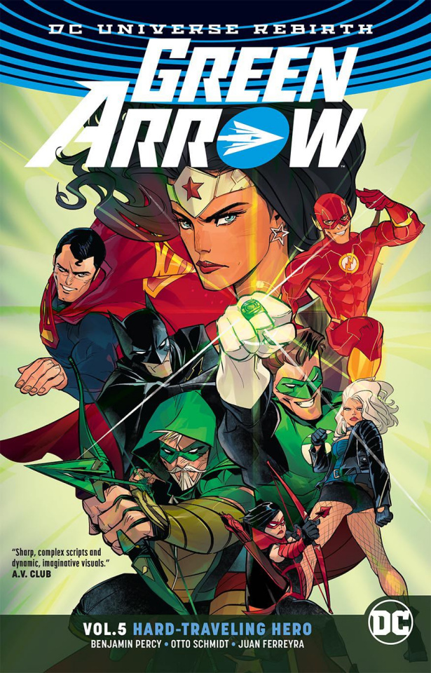 Green Arrow Vol. 5: Hard Traveling Hero (Rebirth)