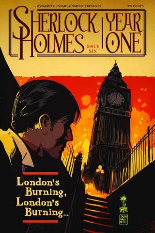 Sherlock Holmes: Year One #6