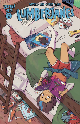 Lumberjanes #47 (Subscription Wong Cover)