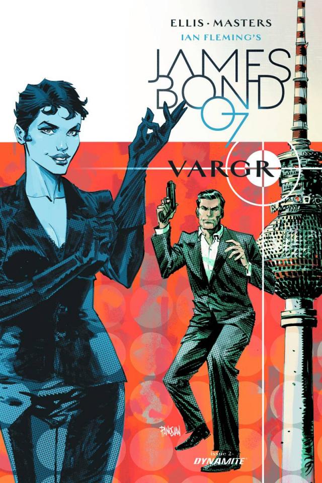 James Bond #2 (30 Copy Panosian Unique Cover)