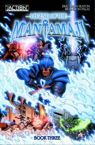 Legend of the Mantamaji Book 3
